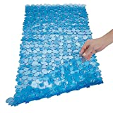 SONGZIMING Pebble Bath Mat for Bathtub to Anti Slip Bathtub Mat in Shower with 16 Inches b...