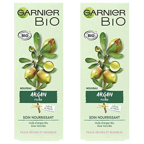 Garnier Garnier Garnier Bio cuidado nourrissant–Argan Riche Paquete de 2 x 50 ml