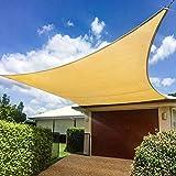 Shade&Beyond Sun Shade Sail Rectangle Canopy 16' x 20' Sail Shade Sand Sun Shades for Patios