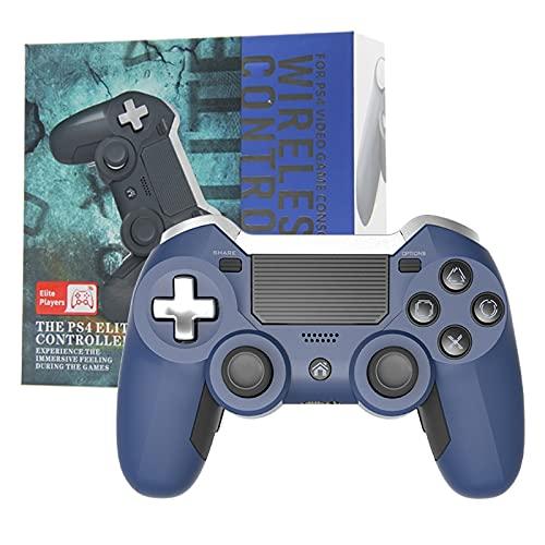Incdnn Mando inalámbrico Bluetooth para PS4 Gamepad Dual Vibration Elite, mando para consola de videojuegos de PC, mando para disparador de teléfono de PC para juegos