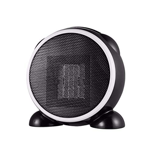 HDCDKKOU Electric Mini 500W Ceramic Space Heater,Personal Heater Fan,Over-Heat and Tip-over Protection, Natural Wind/Low Heat/High Heat for Office and Home Use