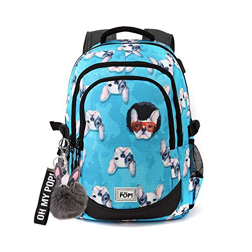 Oh My Pop! Pop! Doggy-zaino Running Hs Rucksack, 44 cm, 21 liters, Mehrfarbig (Multicolour)