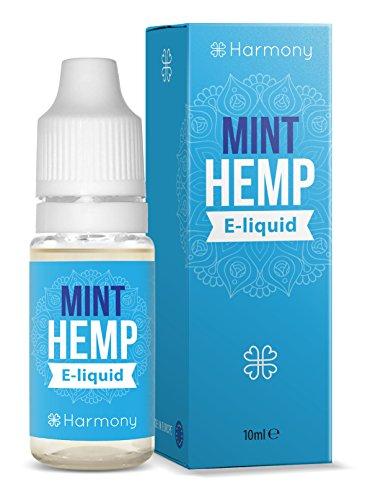 Harmony CBD E-Liquid mit 300mg Cannabidiol - 10ml - Minze Hanf Geschmack (nikotinfrei)
