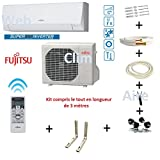 Air conditioner Atlantic Fujitsu ASYG 12 KPCA - Kit 3 meters