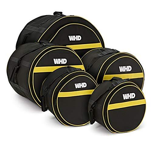 WHD Set di Custodie Imbottite per Fusti Batteria Rock