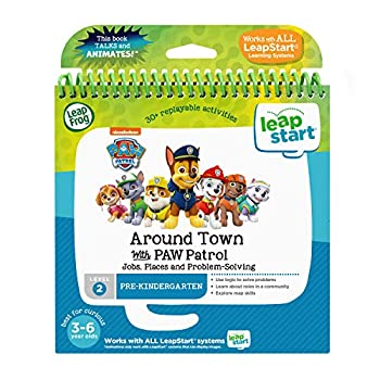 LeapFrog LeapStart 3D Around Town with PAW Patrol Book Level 2