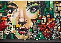 ZZFJF ゲーミ 5DDiyダイヤモンド絵画グラフィティアートフルラウンドドリル美容刺繡モザイク自転車クロスステッチ壁の装飾