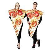 EraSpooky Unisex Essen Lebensmittel Pizza Kostüm Halloween Party Karneval Fastnacht...