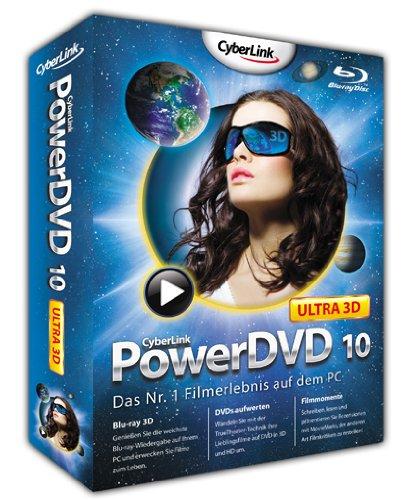 Preisvergleich Produktbild Cyberlink PowerDVD 10 Ultra