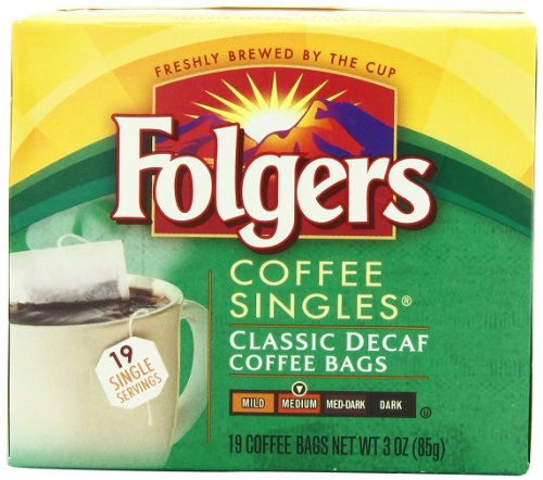 Top folgers decaf coffee bags single for 2020