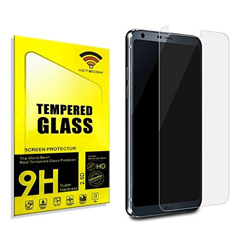 actecom® Protector DE Pantalla para LG G6 Cristal Vidrio Templado