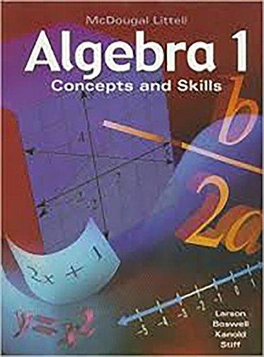 Algebra 1: Concepts and Skills: Standardized Test Practice Workbook