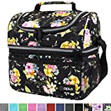 Best Lunch Coolers - Insulated Dual Compartment Lunch Bag for Women, Ladies Review