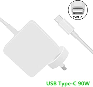 Llamatec 90W USB Type-C Charger with 6-foot cord for HP Spectre x360 15 inch, 13.3 inch Apple Macbook Pro 15 inch, 13 inch...