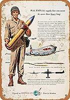 1955年ダグラス航空機軍用航空輸送グッズウォールアート