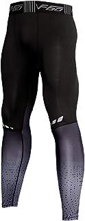 Hombres Gimnasio Culturismo Compresión Leggins Medias Rutina de Ejercicio Aptitud Pantalones Capa Base Fresco y seco