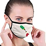 Flag map of Saint Kitts and Nevis Dust Mask Mouth Face Adjustable Breathable Washable Reusable Windproof Cover Black