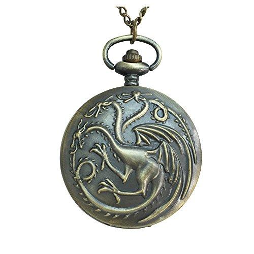 Orion Creations Khaleesi's Drachenuhr Halskette