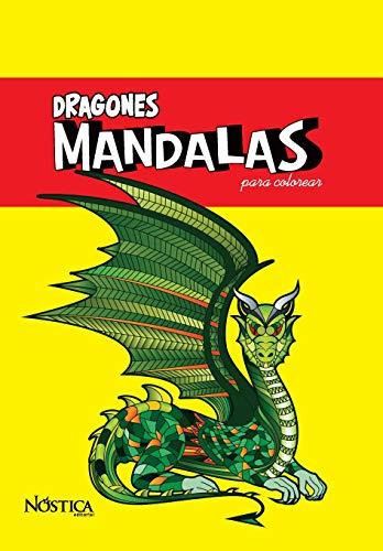 Mandalas Dragones: para colorear