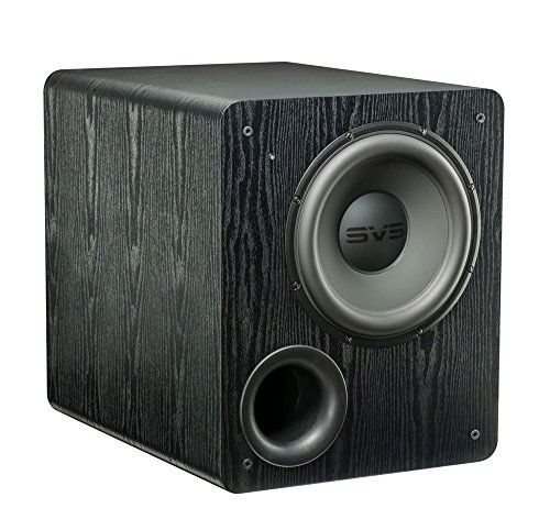 SVS PB-2000 Subwoofer (Black Ash) – 12-inch Driver, 500-Watts RMS, Ported Cabinet