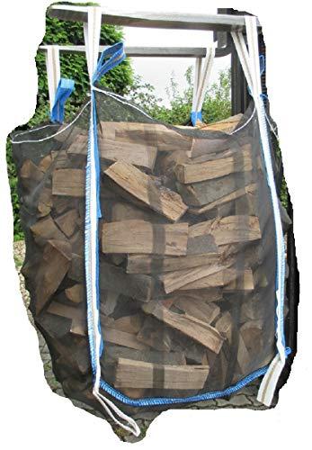 Special +++ Ixkes Vollnetz HolzBag Premium 120cm, Kaminholz/Brennholz/Woodbag