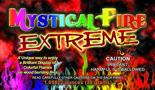Check Out This Extreme MYSTICAL FIRE - Adds 20% More Colorful Flames to a Campfire - 25 Packs