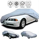 DOBO Telo copriauto impermeabile in pvc copertura copri auto anti pioggia sole ghiaccio (XXL)