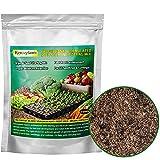 Organic Potting Soil Mix, Professional Starter Potting Mix, All Nature Premium Garden Soil for Cuttings, Vegetables, Herbs, Flowers, 2 Quarts