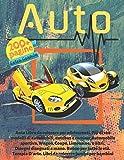 Auto Libro da colorare per adolescenti. Più di 100 modelli di automobili,...