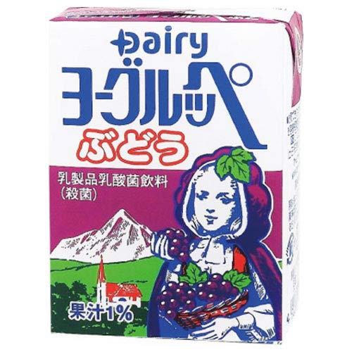 南日本酪農協同 デーリィ ヨーグルッペ ぶどう