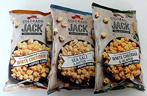 Read About COLORADO JACK POPCORN 3 PACK (3 -6.5 OZ BAGS INCLUDED)