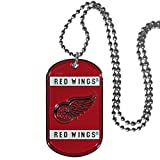 Siskiyou Sports HTN110 Detroit Red Wings Tag Necklace