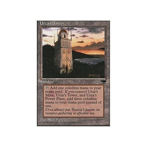 Magic The Gathering - Urza39;s Tower (Shore) - Chronicles