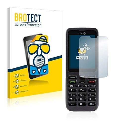BROTECT 2X Entspiegelungs-Schutzfolie kompatibel mit Doro 5516 Bildschirmschutz-Folie Matt, Anti-Reflex, Anti-Fingerprint