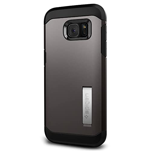 f6078a275e5 Spigen Tough Armor Galaxy S7 Edge Case with Kickstand and Extreme Heavy Duty  Protection and Air