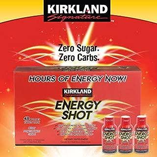 Best kirkland energy shot ingredients Reviews