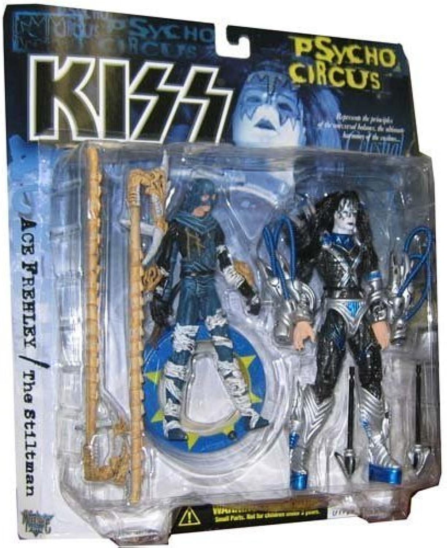 ahorra hasta un 70% KISS Psycho Circus Ace Frehley & the Stiltman Acción Acción Acción Figura 2-Pack by McFarlane Juguetes  mejor calidad mejor precio