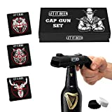 Cap Guns Beer Bottle Opener - Shooter Opens The Beer Cap & Fires It Over 16 Feet - Fathers Day Idea - Send Gun Beer Gifts For Funny Bottle Opener