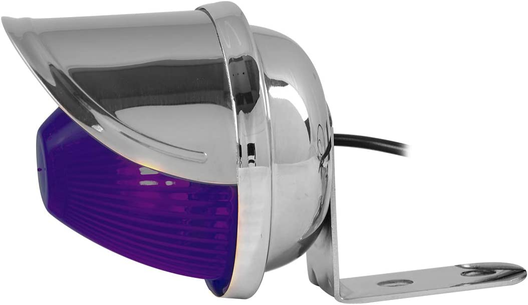 Clear Purple Beehive Grand General 80068 Large Marker Light
