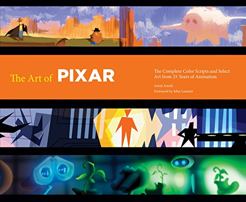 Abrams & Chronicle Books The Art of Pixar: 25th Anniversary Edition: The Complete Color Scripts and Select Art from 25 Years of Animation, mehrfarbig, 79637