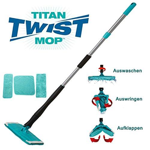 Titan Twist Mop - Bekannt aus dem TV - Der innovative Wischmopp