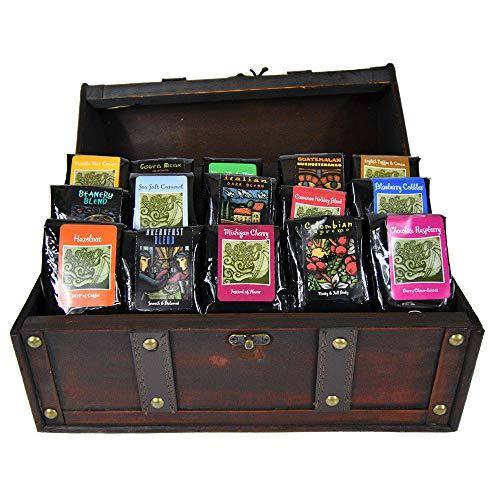 Gourmet Coffee Treasure Chest