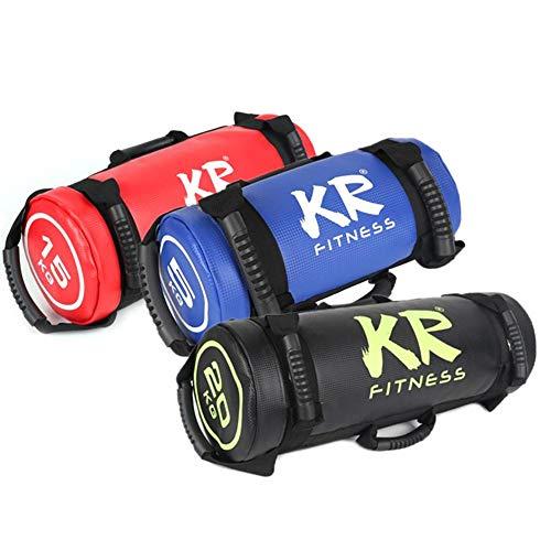 chlius Sandsack Kraftsack Power Bag, Gefüllter Gewicht Fitness Sandsack mit Griffen für Krafttraining, Gewichtheben, Übung 10 kg