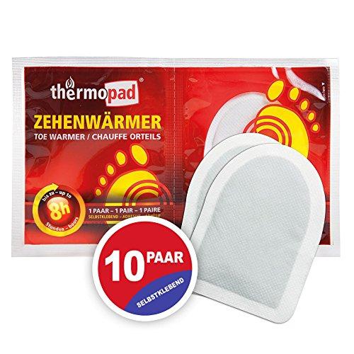 Thermopad 78020 - Scalda Dita dei Piedi, 10 Paia