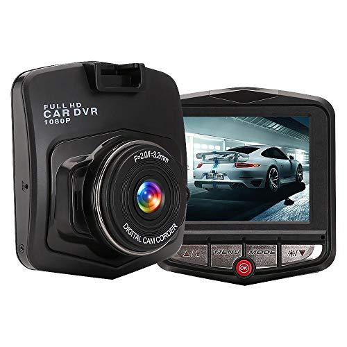 PUNIX® - Dash Cam Full HD 1080P Dashboard Camera Recorder 170 Wide Angle Car DVR Vehicle DashCam Best Recording System