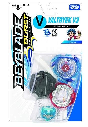Takaratomy Plastic Beyblade Burst Evolution Genesis Valtryek, Multicolor