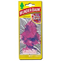 WUNDER-BAUM(ワンダーバウム)ヨーロッパ版リトルツリー エアフレッシュナー 【Berry Burst】ベリーバースト 欧州版LittleTree 芳香剤