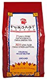 Puroast Low Acid Ground Coffee, Organic House Blend, High Antioxidant, 2.5 Pound Bag