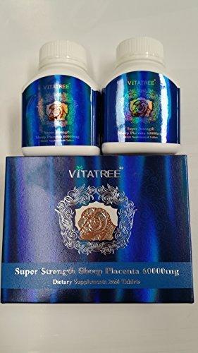 Vitatree Premium Sheep Placenta 60000Mg 2x60 Tablets