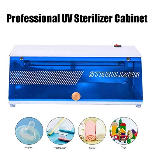 GXLO UV-Sterilisator Cabinet Berufssalon-, Ultraviolettes Licht Desinfektionsgerät, Sterilisation Box Beauty Desinfektor Maschine, für kosmetisches Reinigungswerkzeug, Salon-Ausrüstung
